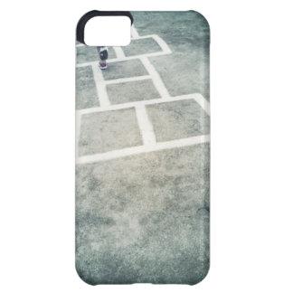Hopscotch Grid Playground iPhone 5 Case