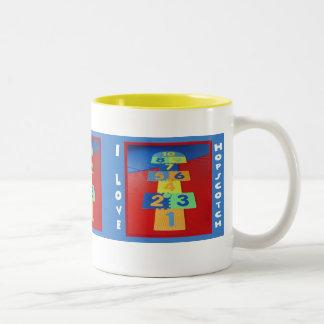 Hopscotch Love Mug