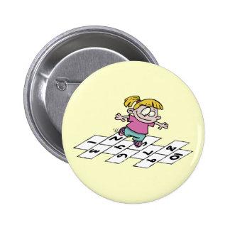 Hopscotcher Pinback Buttons