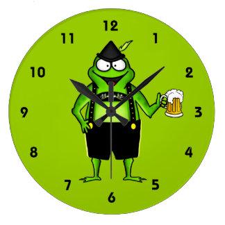 Hoptoberfest Wall Clocks