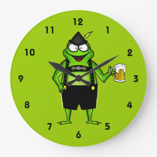 Hoptoberfest Reloj De Pared