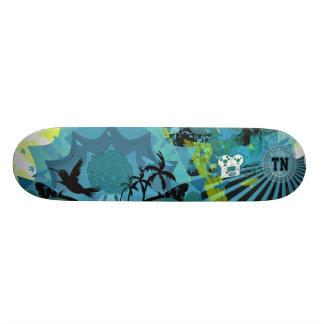 hor azul de la ciudad de la libertad tablas de patinar
