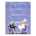 Hora Chair Dance Jewish Wedding Save the Date Card