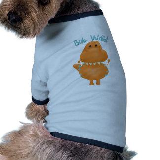 Hora de acostarse del dinosaurio camiseta de perrito