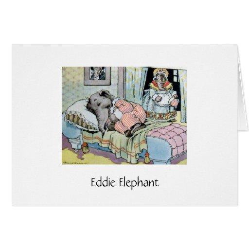 Hora de acostarse para el elefante de Eddie Tarjeton