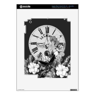 Hora de beber el collage del vintage iPad 3 skin