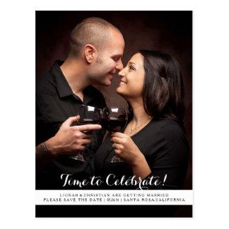 Hora de celebrar para ahorrar la postal de la fech