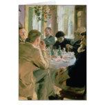 Hora de comer, 1883 felicitaciones