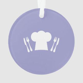 ¡Hora de comer! Gorra, cuchillo y bifurcación del