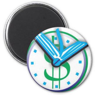 Hora de comprar seu livro 2 inch round magnet