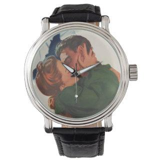 Hora de decir adiós reloj de mano