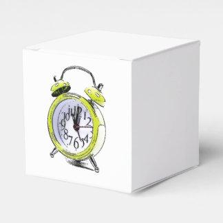 Hora de despertar el dibujo amarillo del caja para regalos