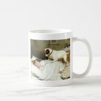 Hora de despertar taza clásica