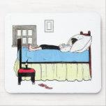 Hora de dormitar, Mousepad Alfombrilla De Raton