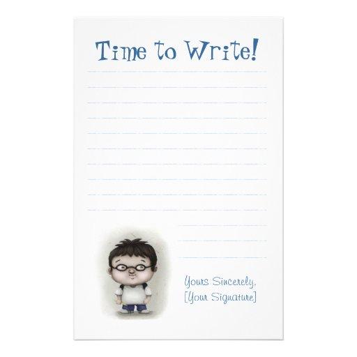 Hora de escribir  papeleria