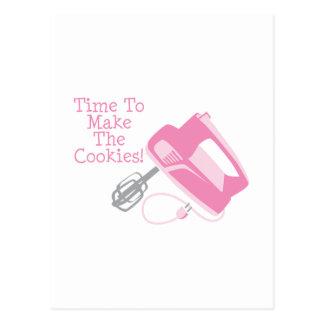 ¡Hora de hacer las galletas! Tarjetas Postales