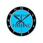 Hora de ir a pescar relojes de pared