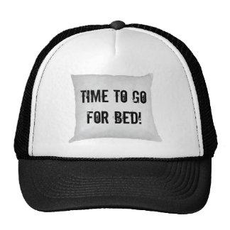 ¡Hora de ir para la cama! Gorro