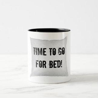¡Hora de ir para la cama! Taza De Café