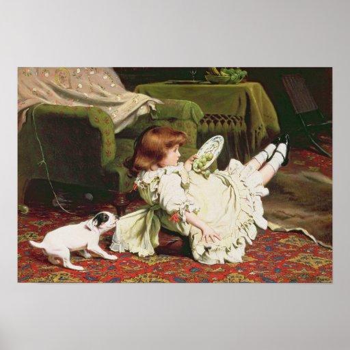Hora de jugar, 1886 póster