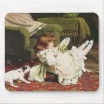 Hora de jugar, 1886 tapete de ratón