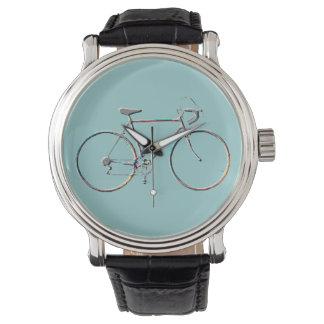 hora de la bici, artículo elegante relojes