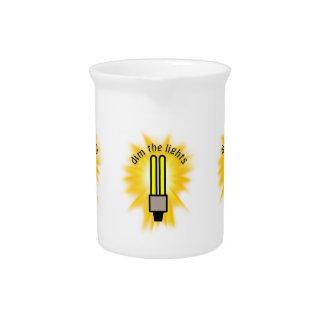 Hora de la tierra - amortigüe las luces - bombilla jarras para bebida