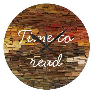 Hora de leer el reloj de los libros