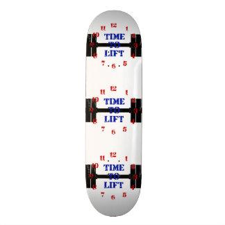 Hora de levantar skate boards