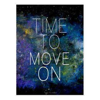 Hora de mover encendido - cósmico, cielo nocturno  postales