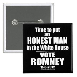 Hora de poner a un hombre honesto en la Casa Blanc Pin