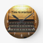 Hora de practicar el reloj de pared de los músicos