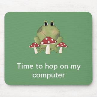 Hora de saltar en mi ordenador Mousepad