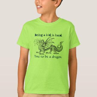 """""""Hora de ser la camiseta de un chica del dragón"""" Playera"""