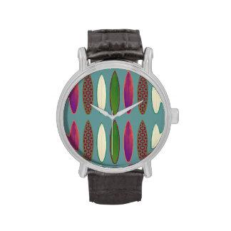 hora del modelo de la resaca relojes de pulsera