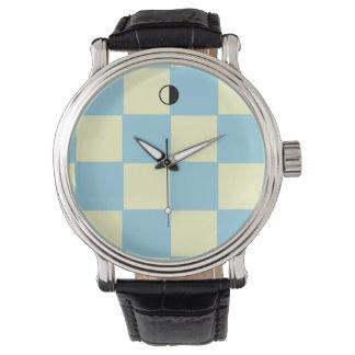 hora del modelo de los cuadrados reloj