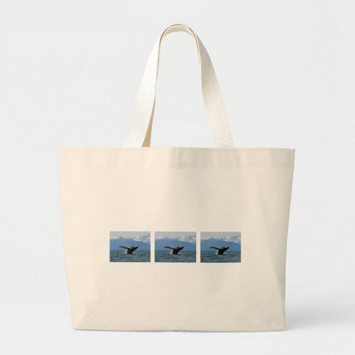Hora del recreo de la ballena bolsa de mano