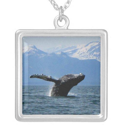 Hora del recreo de la ballena joyeria personalizada