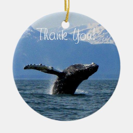 Hora del recreo de la ballena; Gracias Ornamentos De Reyes Magos