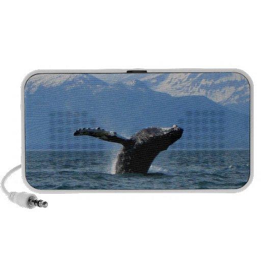 Hora del recreo de la ballena; Ningún texto Altavoces De Viajar