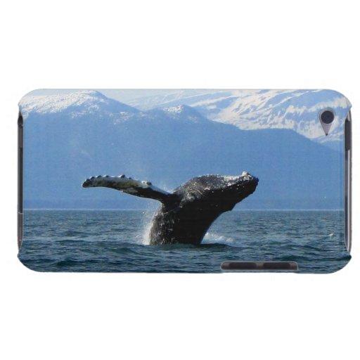 Hora del recreo de la ballena; Ningún texto iPod Touch Case-Mate Funda