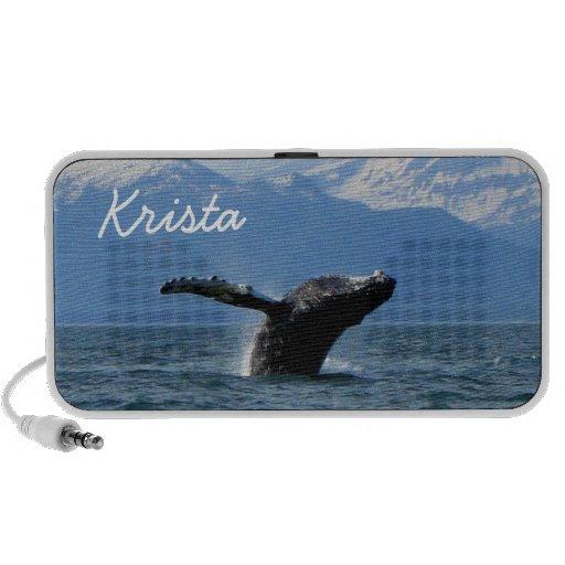 Hora del recreo de la ballena; Personalizable iPhone Altavoz