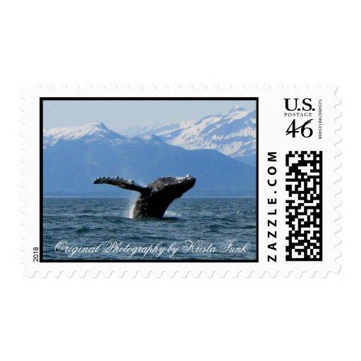 Hora del recreo de la ballena sello