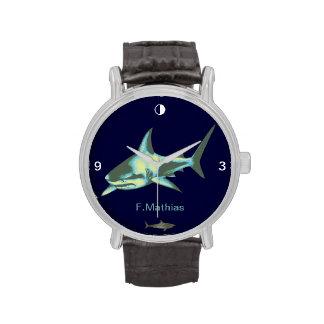 hora del tiburón relojes de mano