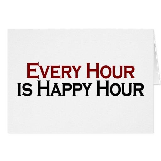 Hora feliz cada hora felicitaciones