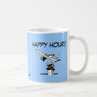 ¡Hora feliz! - Controlador aéreo Taza