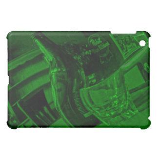Hora feliz en la caja verde de Ipad