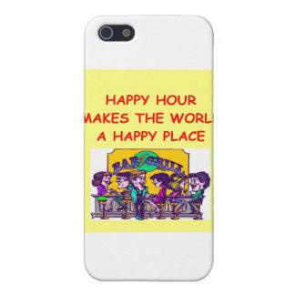hora feliz iPhone 5 cárcasas