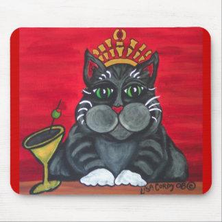 Hora feliz Mousepad del gato gordo Alfombrilla De Ratones