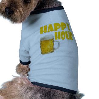 hora feliz camisa de mascota